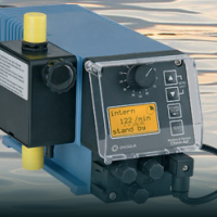 Chem-Ad®隔膜计量泵可满足液体投加需求