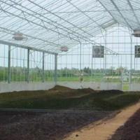 太阳能污泥干化温室