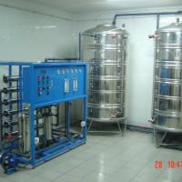 0.5吨桶装纯净水设备 生活饮用水设备 二级反渗透纯水设备