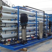 厂家直销2T/H单级反渗透设备 反渗透纯水设备 工业纯水处理设备