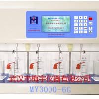 混凝试验搅拌仪器MY3000-6G可设程序14种彩屏电动搅拌机