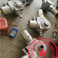非侵智能阀门电动执行器机构F-DZW90-PB带485接口
