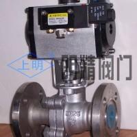QJDR不锈钢精小型气动切断球阀