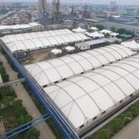 化工厂污水池膜结构生产厂家,选襄阳市三胜膜结构工程有限公司