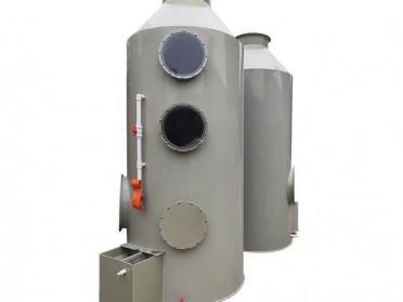 2.喷淋塔废气处理环保设备pp不锈钢脱硫除尘酸雾工业废气净化水淋塔