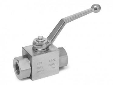 专业生产YJZQ高压液压球阀