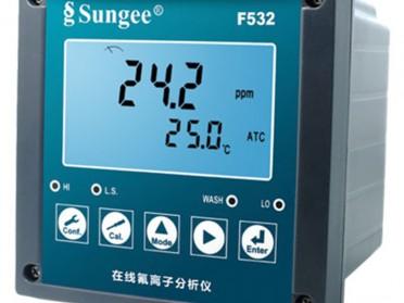 台湾尚捷(Sungee)在线氟/氯离子分析仪   F532型