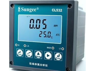台湾尚捷(Sungee)    CL532型余氯分析仪