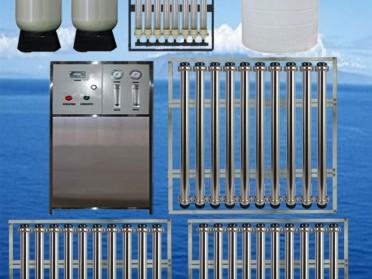 2吨/小时双级RO反渗透纯水设备纯净水设备净化水设备工业生产用