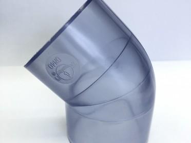 UPVC透明管观察管PVC液位管保护管透明可视养鱼管