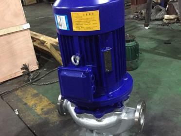温州石一泵阀GWP不锈钢管道排污泵