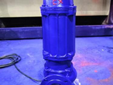 温州石一泵阀QWB防爆潜水排污泵
