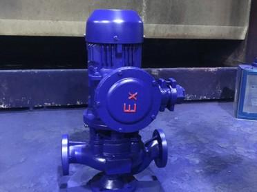 温州石一泵阀GWB防爆型管道排污泵
