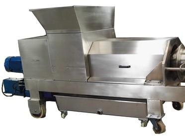 菜市场有机垃圾---双螺旋挤压脱水机