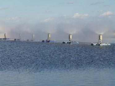 水面蒸发器 煤化工高盐水蒸发设备 燃煤电厂脱硫废水蒸发