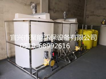 大型一体化加药搅拌装置 洗洁精搅拌桶 搅拌机设备1-3吨