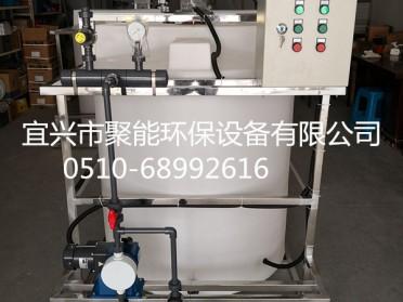 工厂直发 一体化加药装置PE加药搅拌桶搅拌机计量泵 非标定制
