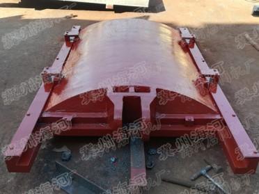 菏泽1.5米*2米铸铁镶铜方闸门