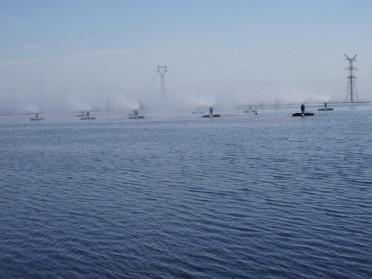 电厂蒸发塘盐水 燃煤电厂废水蒸发 厂家现货供应