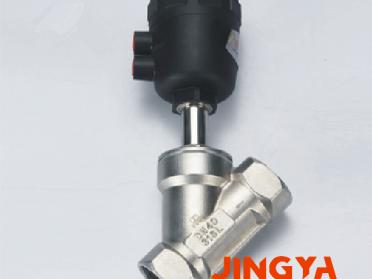 精亚卫生级角座阀 快装角座阀 气动角座阀 不锈钢气动角座阀