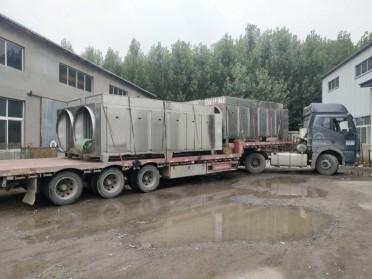 沥青搅拌站10万风量废气处理设备