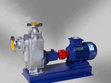 温州石一泵阀ZWP不锈钢自吸排污泵