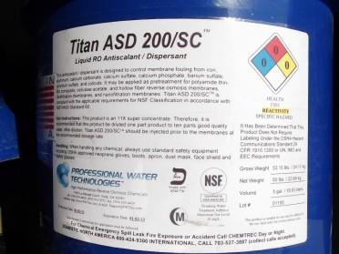PWT反渗透阻垢剂