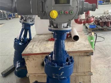 扬修阀门高压电动闸阀J961Y配套多回转电装