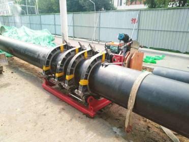 山东淄博专业承接PE管道设计、安装、维修工程
