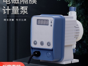 电磁隔膜计量泵加药泵