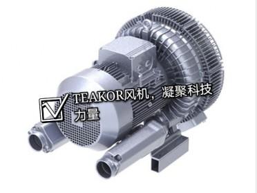 11kw低噪音双段双叶轮高压风机直销厂家
