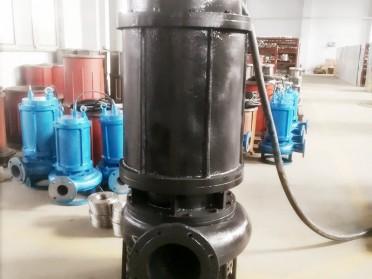 高品质潜水污泥泵-无堵塞耐磨泥浆泵