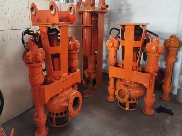 挖机液压驱动抽泥泵 河道排浆泵 挖机疏浚泵