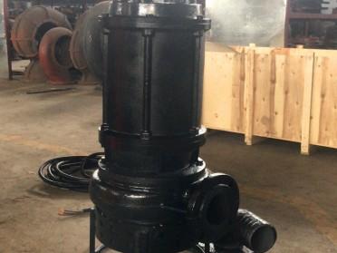 厂家直销高铬耐磨合金潜水清淤泵 大流量耐磨泥沙泵