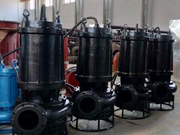 山东地区耐磨渣浆泵生产厂家 潜水搅拌抽沙泵 淄博瑞昱泵业