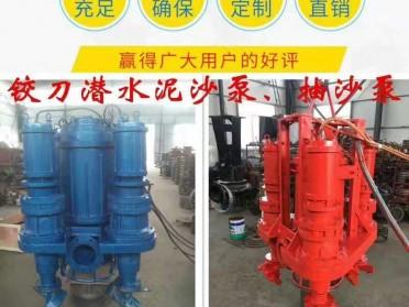 淄博瑞昱泵业 潜水泥沙泵型号 高浓度潜水泥沙泵