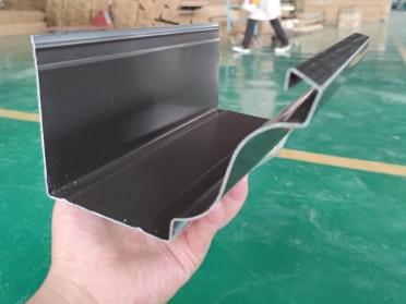 供应铝合金成品天沟 金属落水管生产厂家