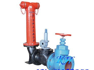 地上式水泵接合器 SQS150-16喷淋接合器