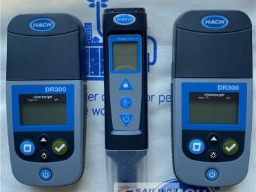 美国哈希DR300便携式余氯比色计
