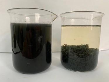 金属零件加工含油废水处理系统,切削液乳化液废水处理设备