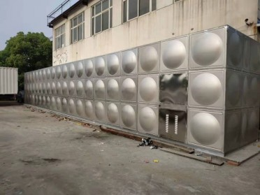 消防不锈钢箱泵一体化水箱