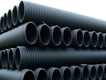 pe双壁波纹管SN8国标污水下水道排水管排污管hdpe波纹管300 400