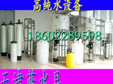 0.5吨/小时纯化水设备高纯水设备双级反渗透设备+EDI装置电子制药